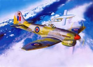 Meciul despre care vorbim aici: Tempest versus bomba zburătoare V-1