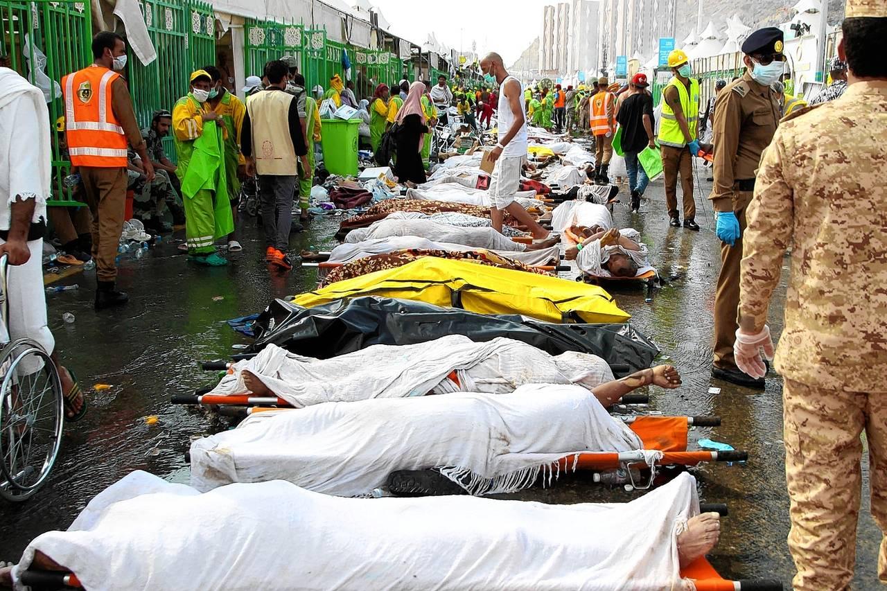 sute de mot'i: cea mai mare tragedie de acest tip, la Mecca, in ultimii 25 de ani
