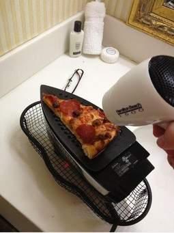 Uneori, la fascultate nu afli nici măcar cum poţi încălzi, cumsecade, o felie de pizza