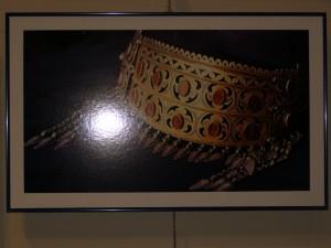 Podoabă metalică din Turkmenistan