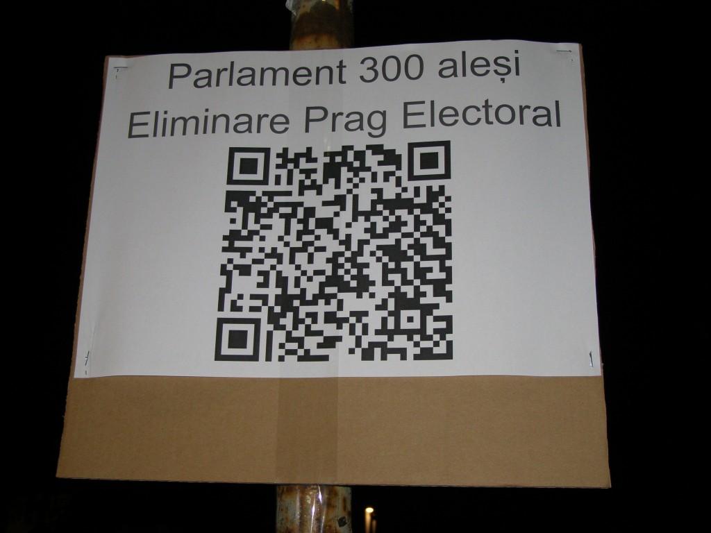 Fără prag electoral, astfel ca și partidele noi și mici să aibă șanse