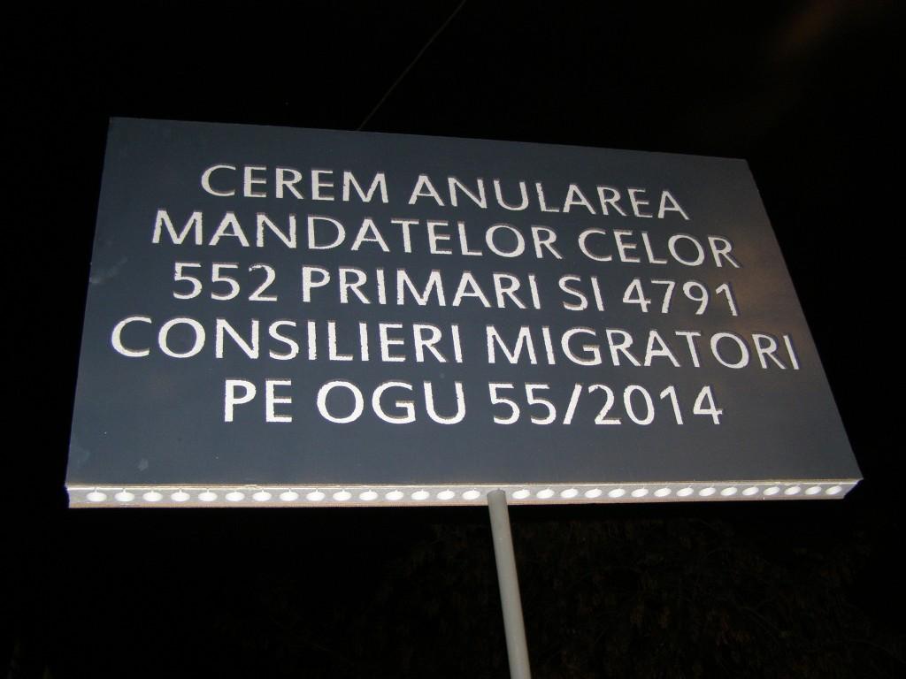 Fără migrație dintr-un partid în altul. Clar?