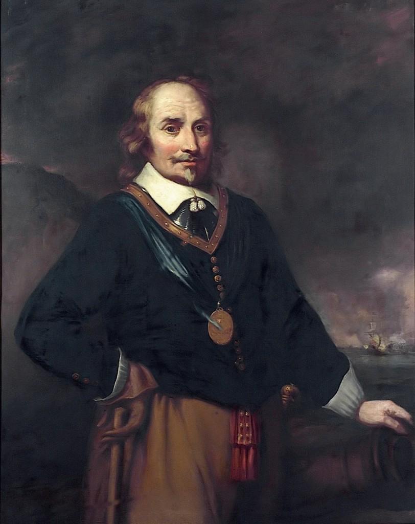 Maarten Harpertszoon Tromp amiralul olandez care i-a bătut zdravăm pe englezi, la Dungeness, în decembrie 1652