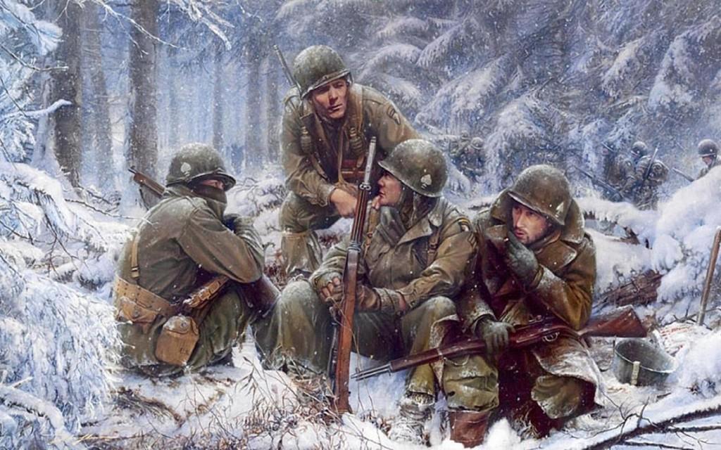 Puţini, flămânzi şi slab înarmaţi, militarii americani din Divizie 101 aeropourtată Screaming Eagles i-au ţinut în şah, la Bastogne, mai bine de o săptămână pe zecile de mii de atacatori germani.