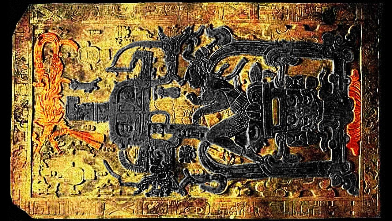 Ce legătură ar putea avea această piatră funerară mayaşă din Palenque cu politica românescă te lămureşti tu, imediat.