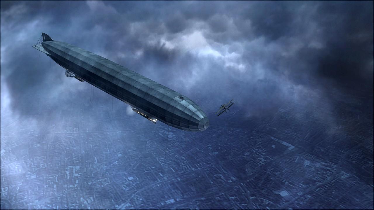 Ca şi Londra, Parisul a fost lovit în mai multe rânduri de zeppelinele germane, nişte maşinării zburătoare extrem de sofisticate, chiar dacă nu foarte eficiente