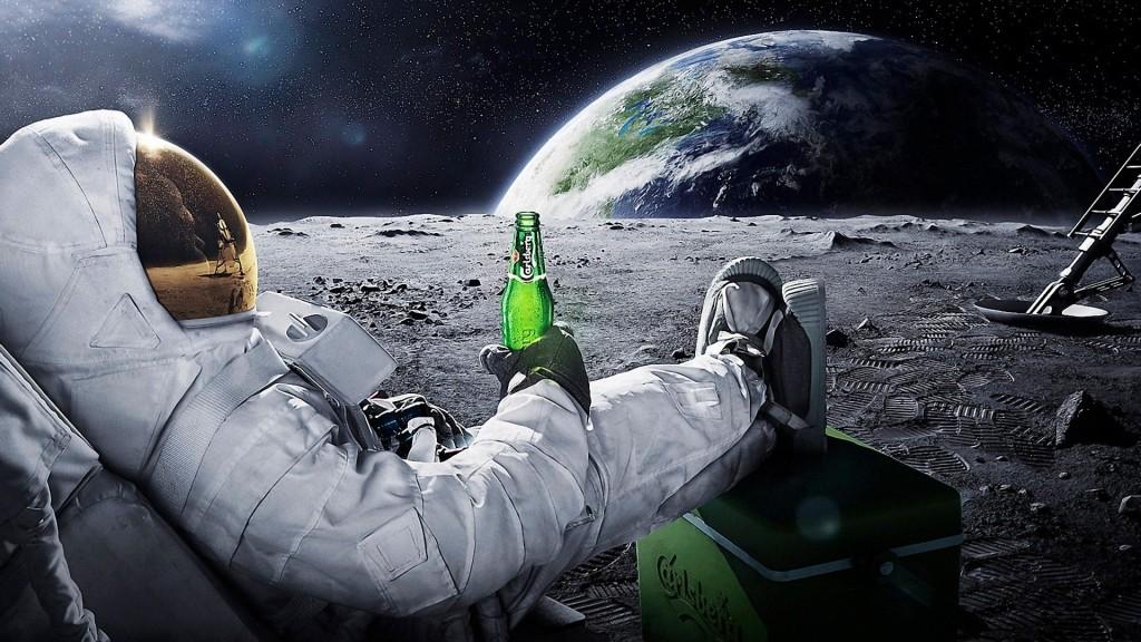 Chiar şi de la mare distanţă se vede, de-şi piere imediat cheful de bere, că lumea a rămas, totuşi, COMPLET neameliorată