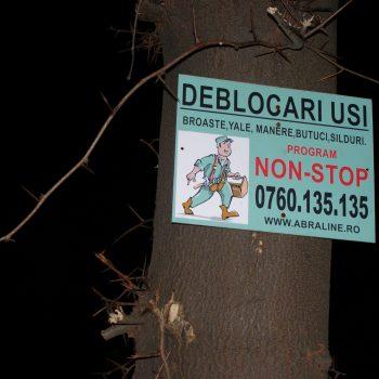 Iată, prietene, unde te poate duce gândul dacă te-apuci să priveşti mai cu atenţie reclamele atârnate prin copacii din cartierul în care locuieşti.