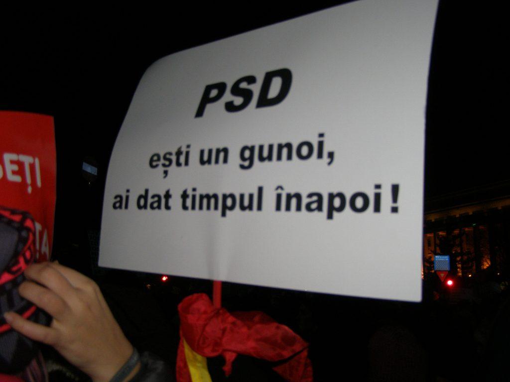 Opiniile protestatarilor despre PSD devin tot mai critice.